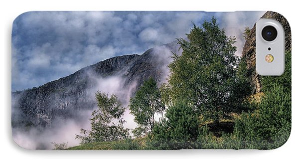 Norway Mountainside IPhone Case
