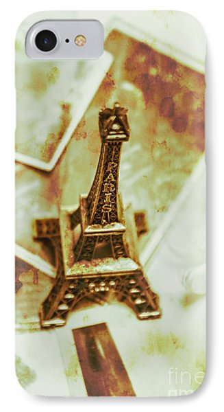 French iPhone 8 Case - Nostalgic Mementos Of A Paris Trip by Jorgo Photography - Wall Art Gallery