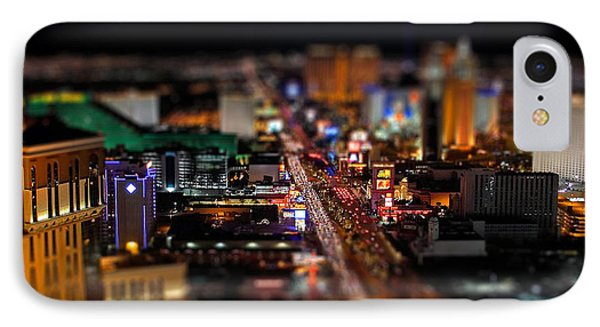 Not Everything Stays In Vegas - Tiltshift IPhone Case