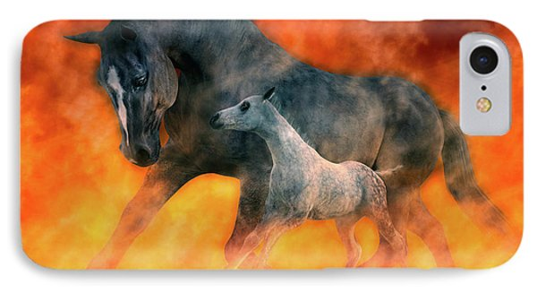 Tribute iPhone 8 Case - Nothin But Fire by Betsy Knapp
