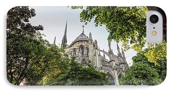Notre Dame Cathedral - Paris, France IPhone Case