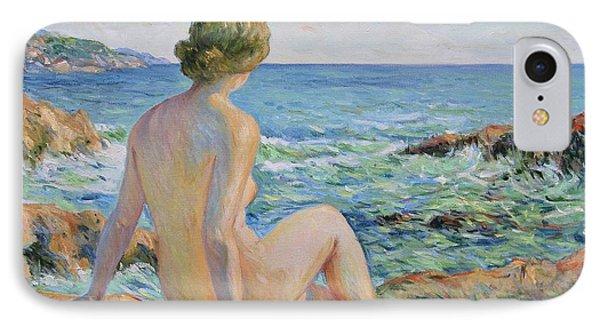 Nude On The Coast Monaco IPhone Case