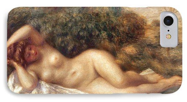 Nudes iPhone 8 Case - Nude by Pierre Auguste Renoir