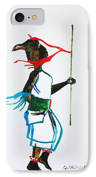 Nuer Dance - South Sudan IPhone Case