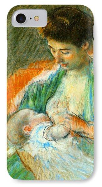Nursing Infant 1900 IPhone Case