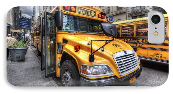 Nyc School Bus IPhone Case