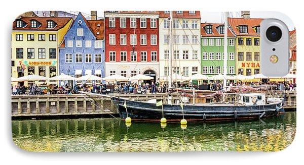 Nyhavn, Copenhagen IPhone Case