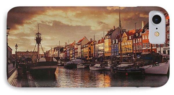 Nyhavn Sunset Copenhagen IPhone Case