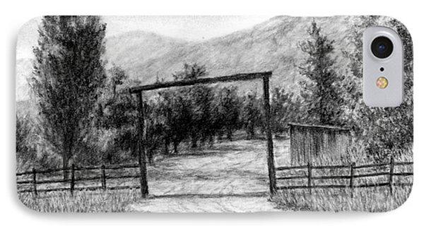 Oakley Ranch Entrance IPhone Case