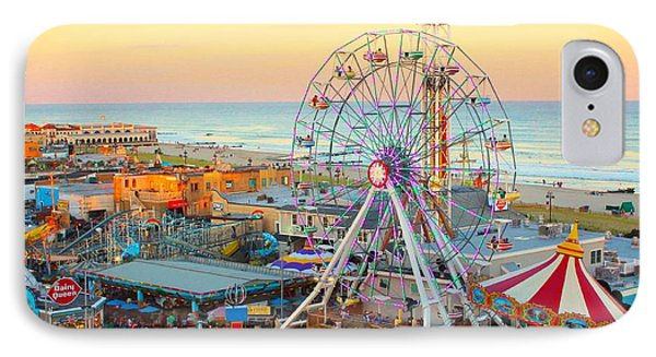Ocean City New Jersey Boardwalk And Music Pier IPhone Case