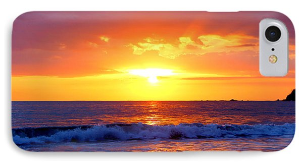 Ocean Sunset Manuel Antonio Costa Rica IPhone Case