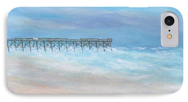 Oceanic Pier At Wrightsville Beach IPhone Case