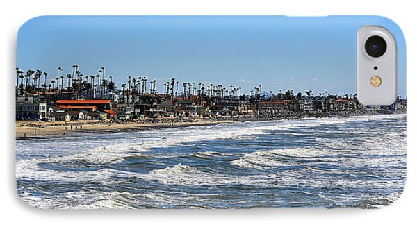 IPhone Case featuring the photograph Oceanside by AJ Schibig
