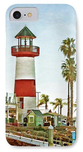 Oceanside Harbor Lighthouse IPhone Case