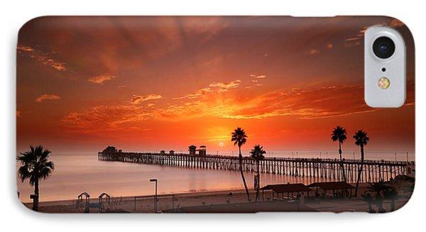 Oceanside Sunset 9 IPhone Case