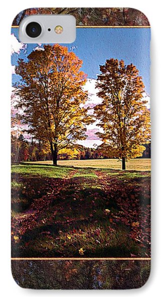October Afternoon Beauty IPhone Case