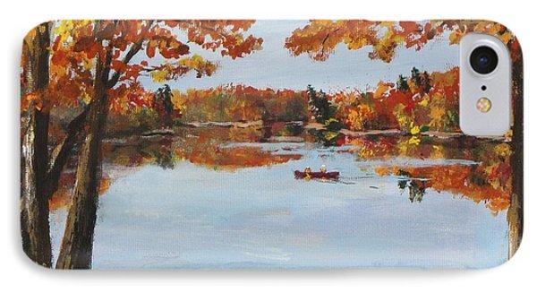 October Morn At Walden Pond IPhone Case