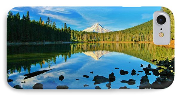 October On The Lake IPhone Case