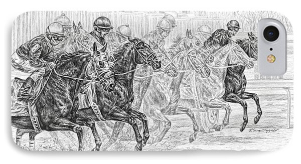 Odds Are... - Tb Race Horse Print IPhone Case