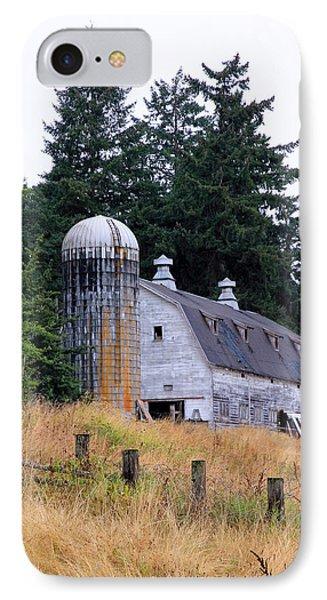 Old Barn In Field IPhone Case