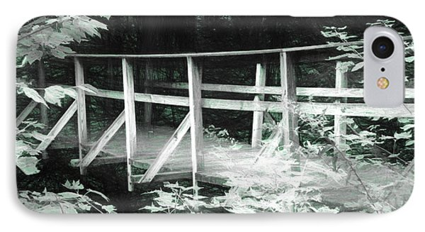 Old Bridge In The Woods IPhone Case
