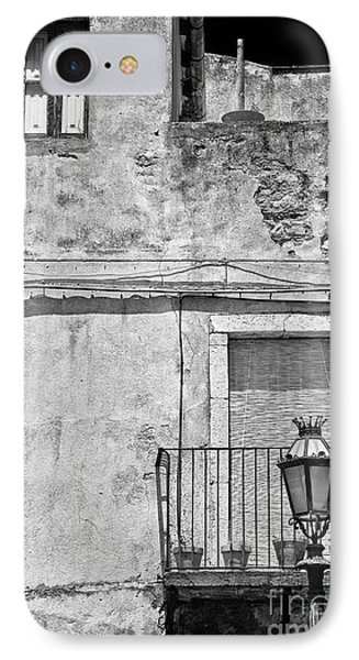 Old House In Taormina Sicily IPhone Case