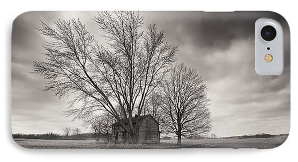Old House Panorama IPhone Case
