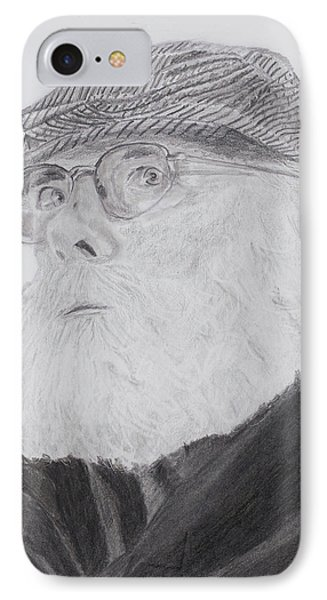 Old Man With Beard IPhone Case