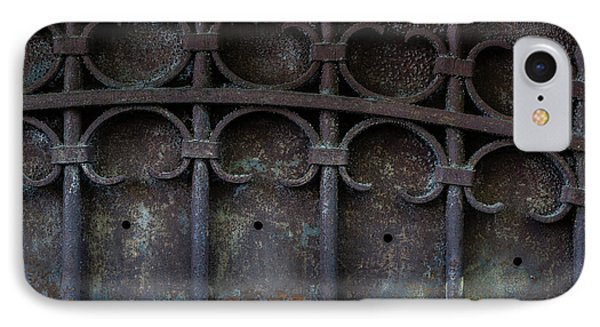 Old Metal Gate IPhone Case