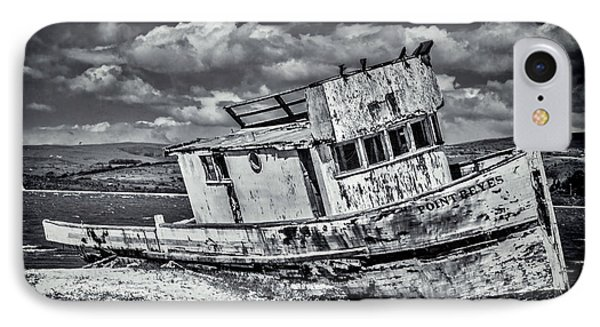 Old Point Reyes Black And White IPhone Case