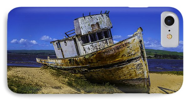 Old Point Reyes Boat IPhone Case