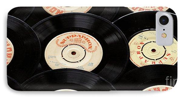 Old Records Mug IPhone Case