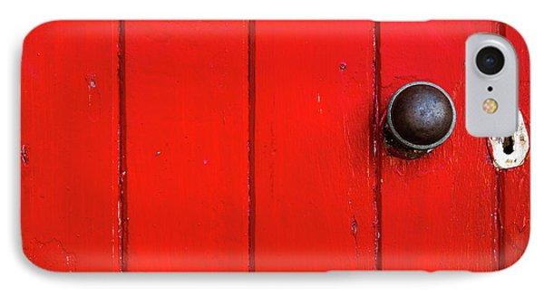 Old Red Door  IPhone Case