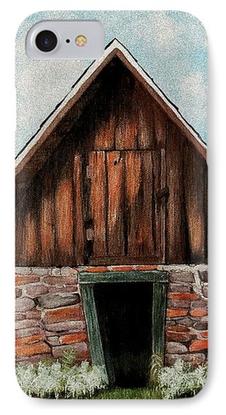 Old Root House IPhone Case
