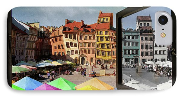 Old Town In Warsaw #13a IPhone Case