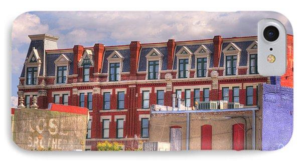 Old Town Wichita Kansas IPhone Case