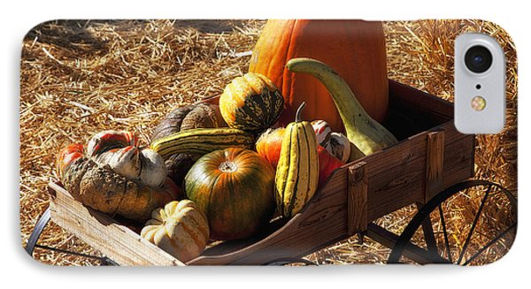 Old Wagon Full Of Autumn Fruit IPhone Case