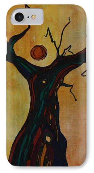 Olive Tree Woman IPhone Case