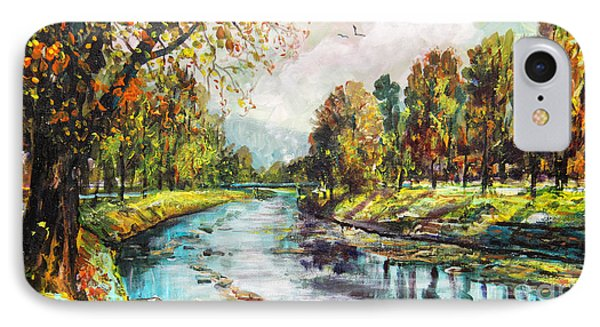 Olza River IPhone Case