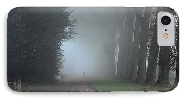 On An Autumn Day In The Mist IPhone Case