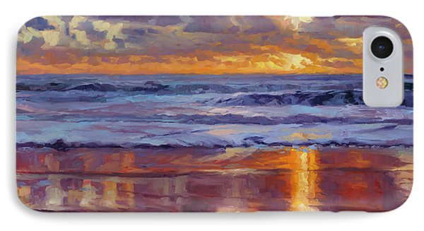 Sand iPhone 8 Case - On The Horizon by Steve Henderson