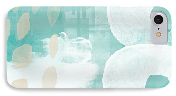 On The Shore- Abstract Painting IPhone Case