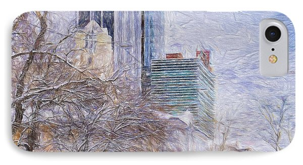 One Winter Day IPhone Case