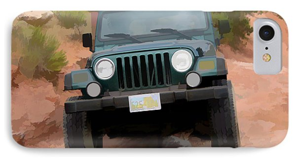 Only Jeeps Here IPhone Case