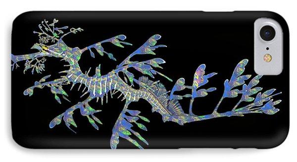 Opalised Sea Dragon IPhone Case