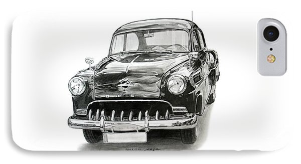 Opel Olympia Rekord 1953 IPhone Case