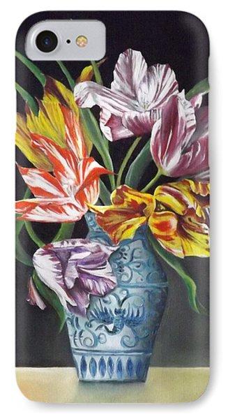 Open Tulips IPhone Case