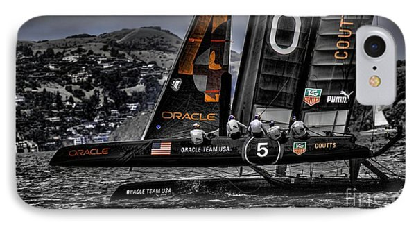 Oracle Winner 34th America's Cup IPhone Case