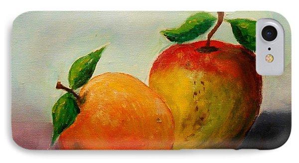 Apple And Orange IPhone Case