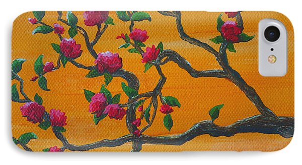Orange Branch IPhone Case